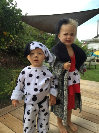 Cruella and Dalmation